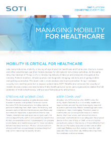 SOTI MobiControl for Healthcare TOUGHBOOK brochure