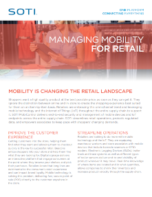 SOTI MobiControl for Retail TOUGHBOOK brochure