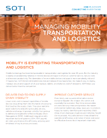 SOTI MobiControl for Transportation TOUGHBOOK brochure