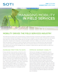 SOTI MobiControl for Field Services brochure