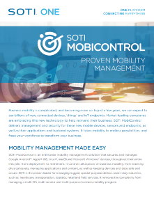 SOTI MobiControl for TOUGHBOOK brochure